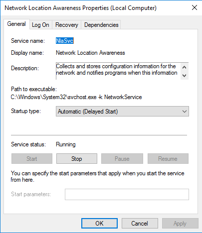 how to change private network to public in windows 2012